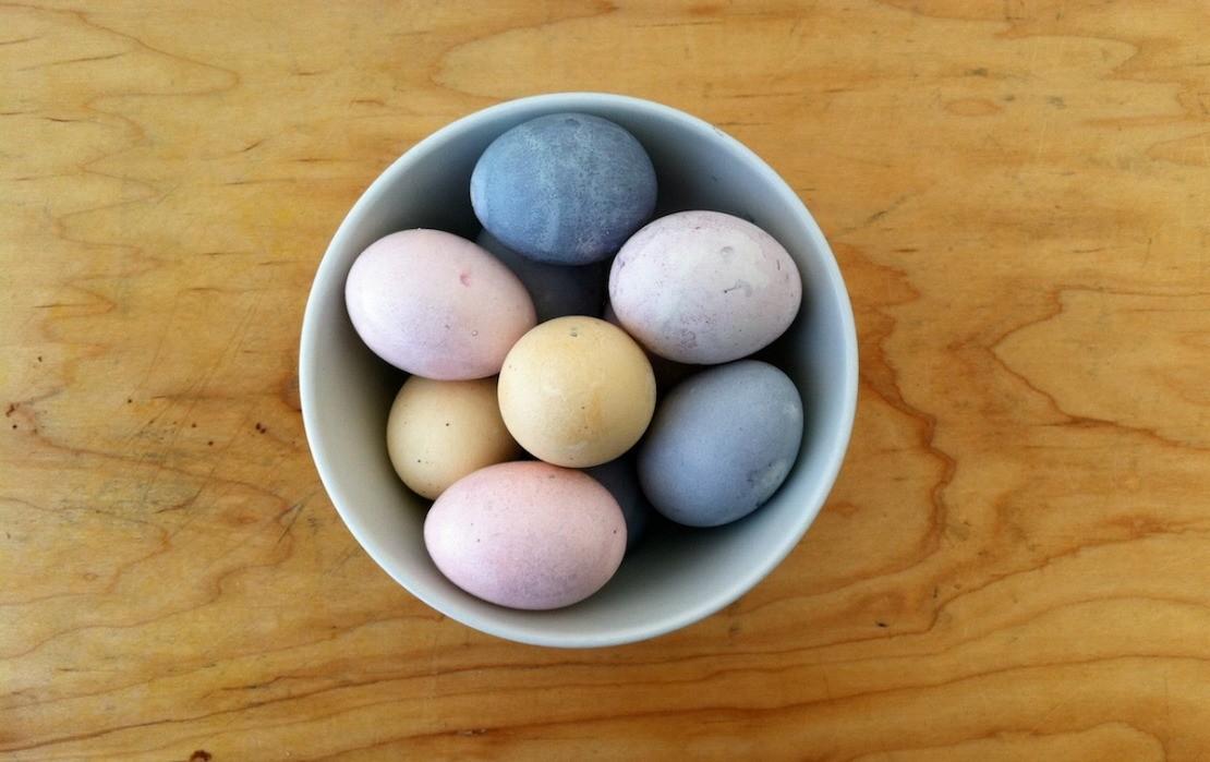 Natural Egg Dyes 102