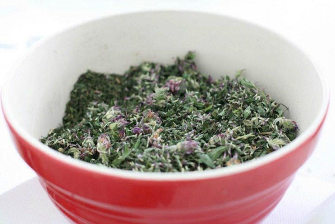 Nourishing Weedy Tea