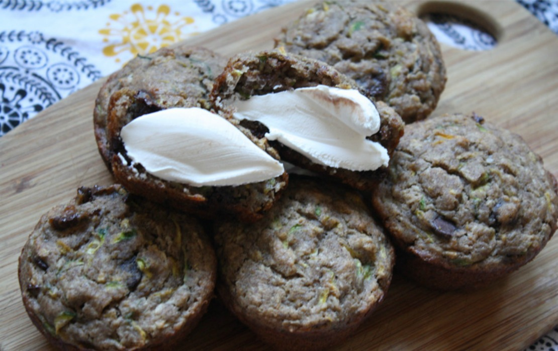 Zucchini Summer Squash Chocolate Chip Muffins - Herbal Academy