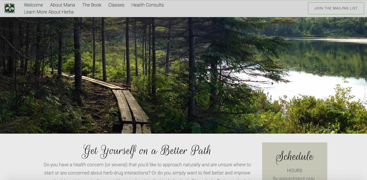 Maria Groves Website