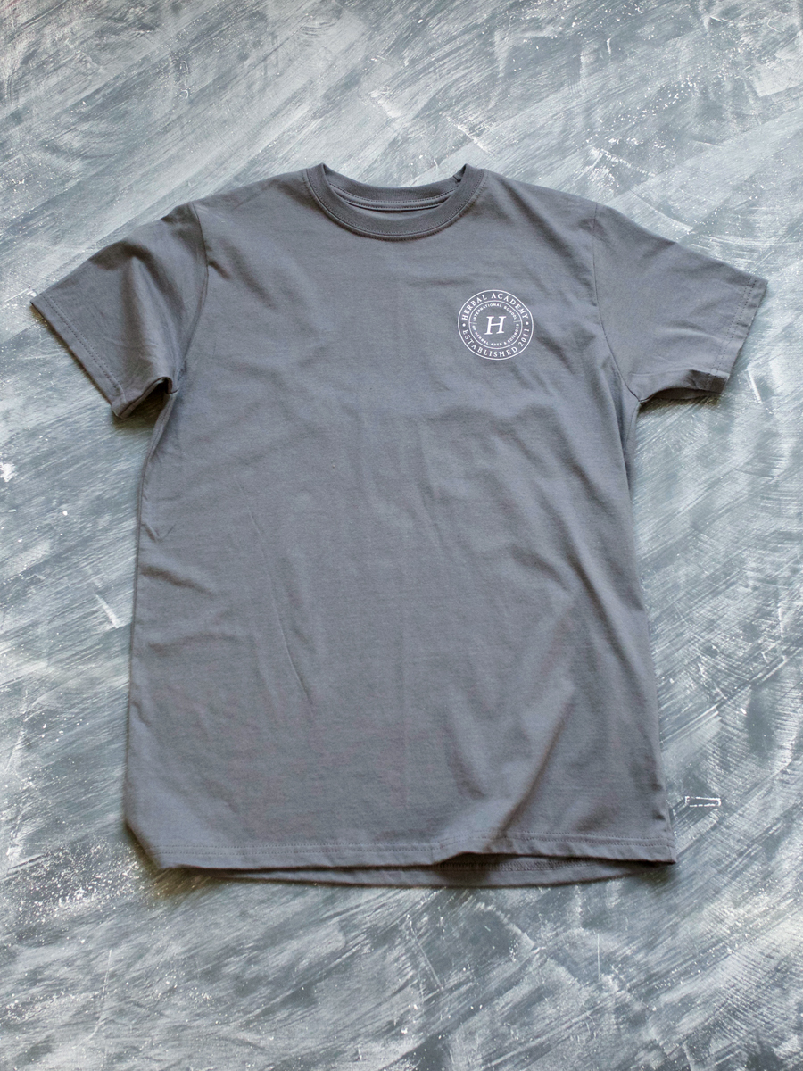 Herbal Academy Crest Mens Tee shirt