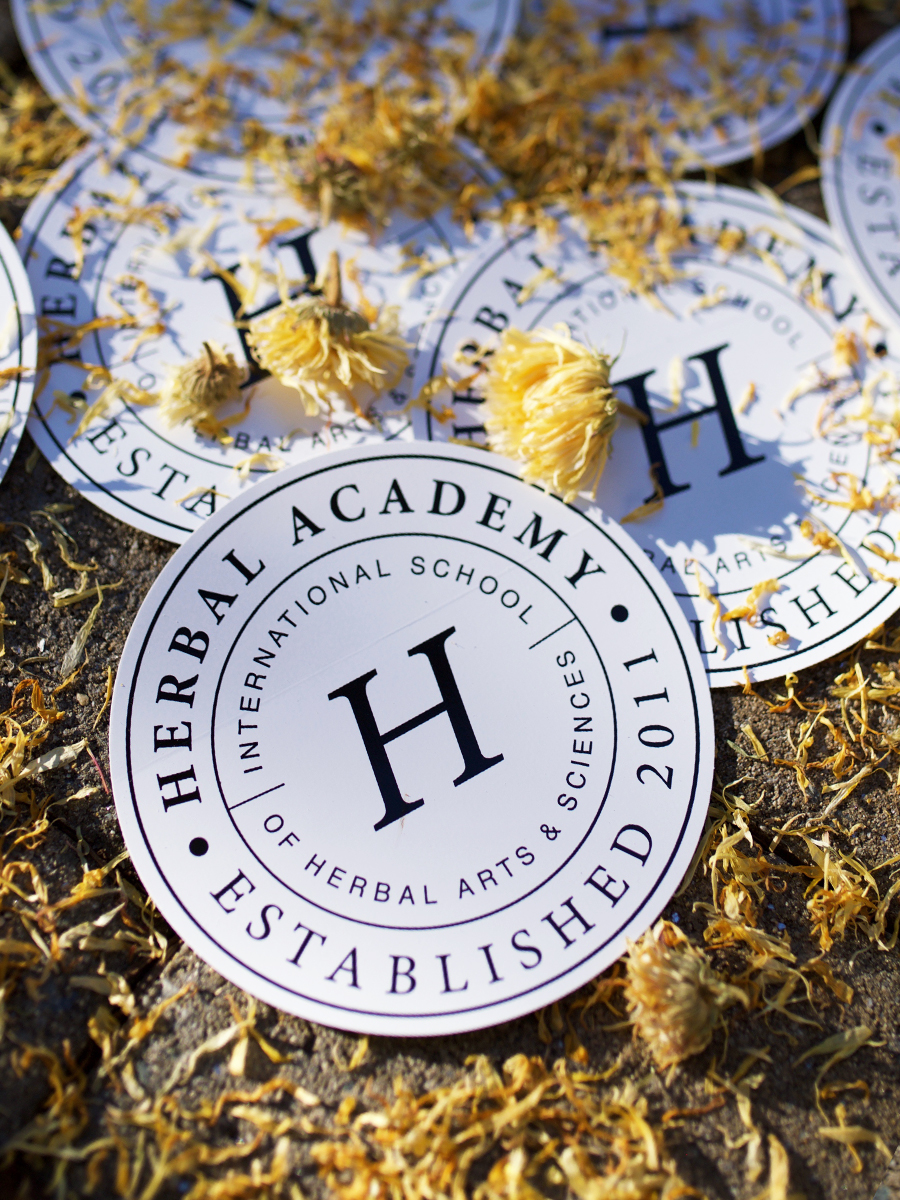 "5"" Herbal Academy Crest Sticker"