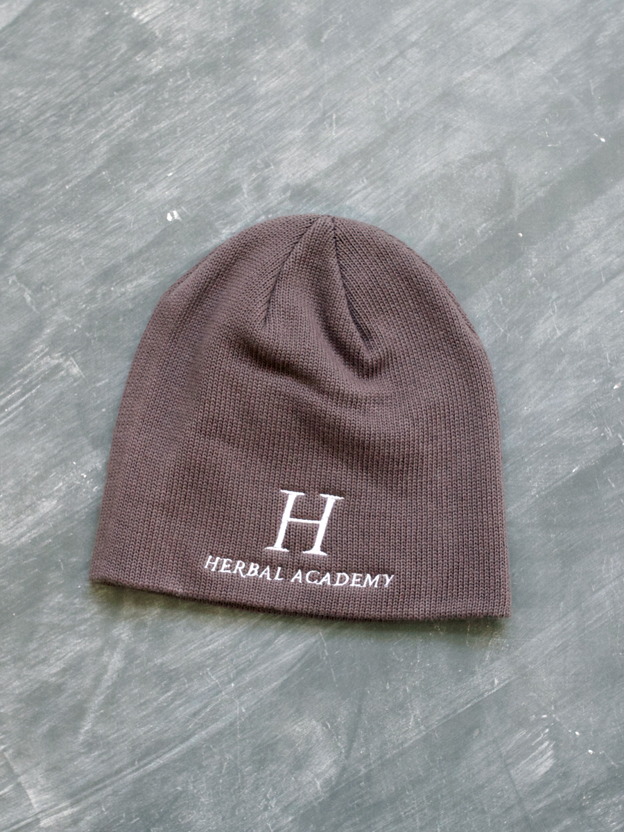 Herbal Academy Organic Cotton Merchandise – Unisex Organic Beanie