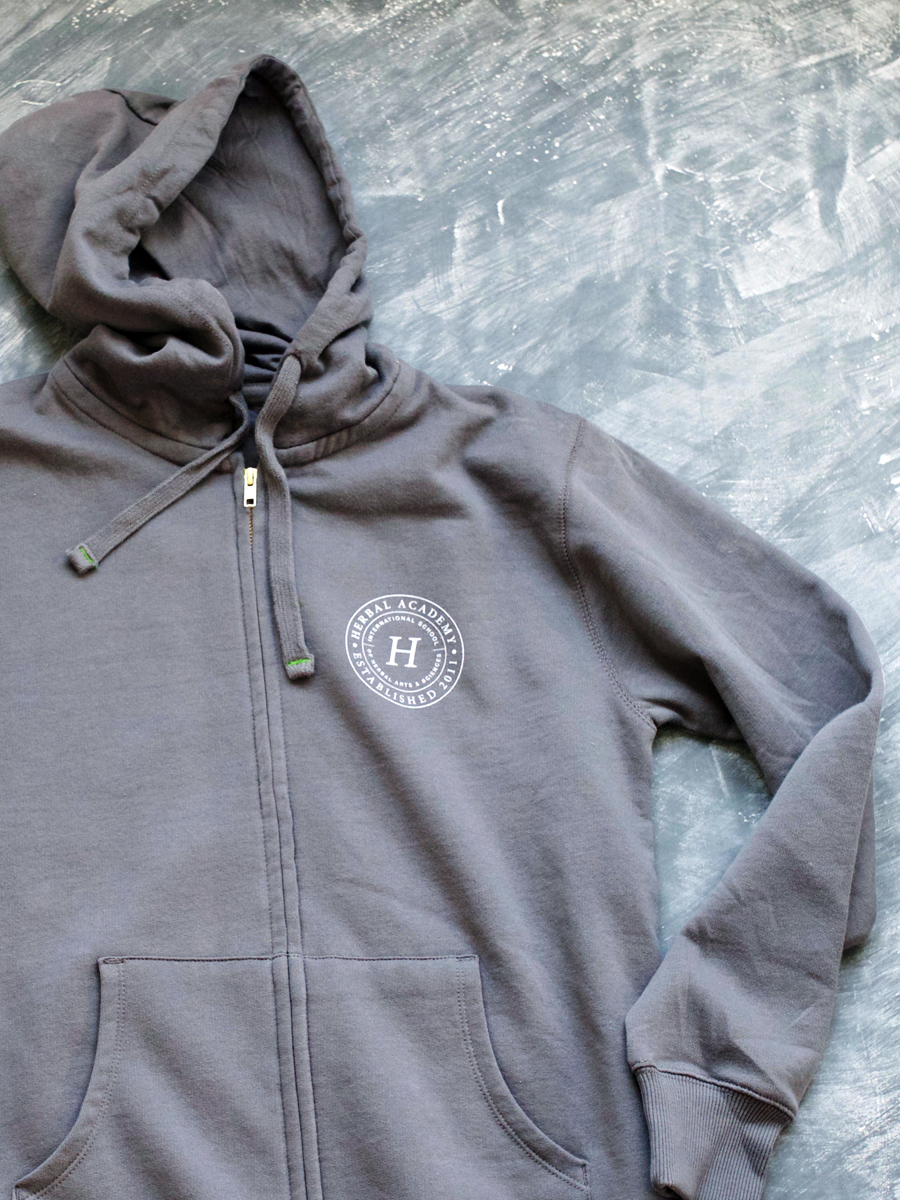 Men's Herbal Academy Crest Hoodie – Organic Cotton