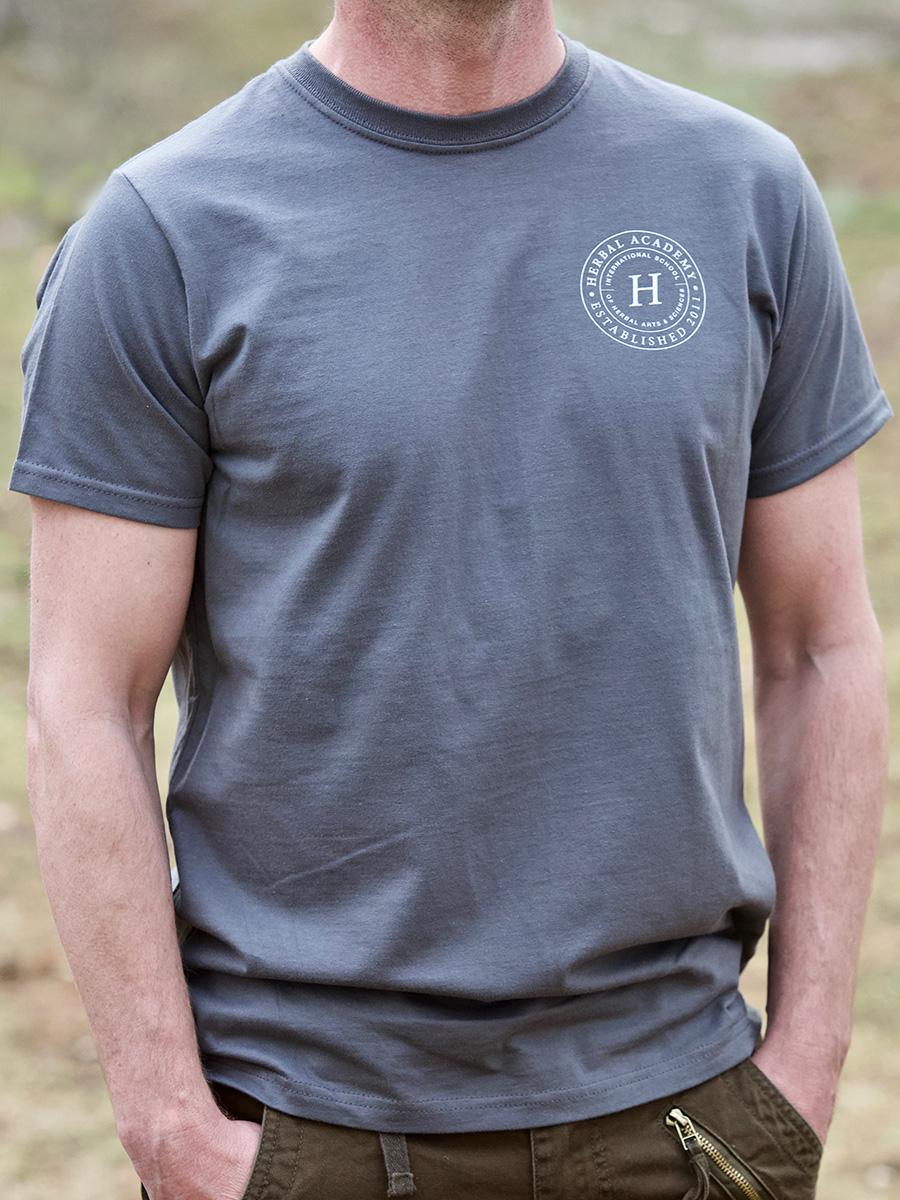 Mens Crest Tee Shirt