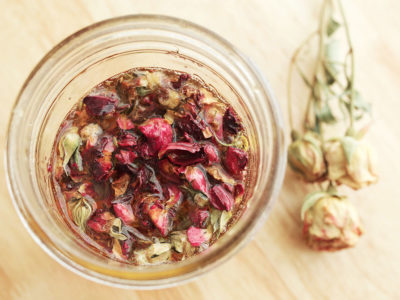 How to Make and Use Rose Infused Honey   Herbal Academy   Roses offer extraordinary benefits to the body and spirit. Here's how to make and use rose infused honey for your good health!