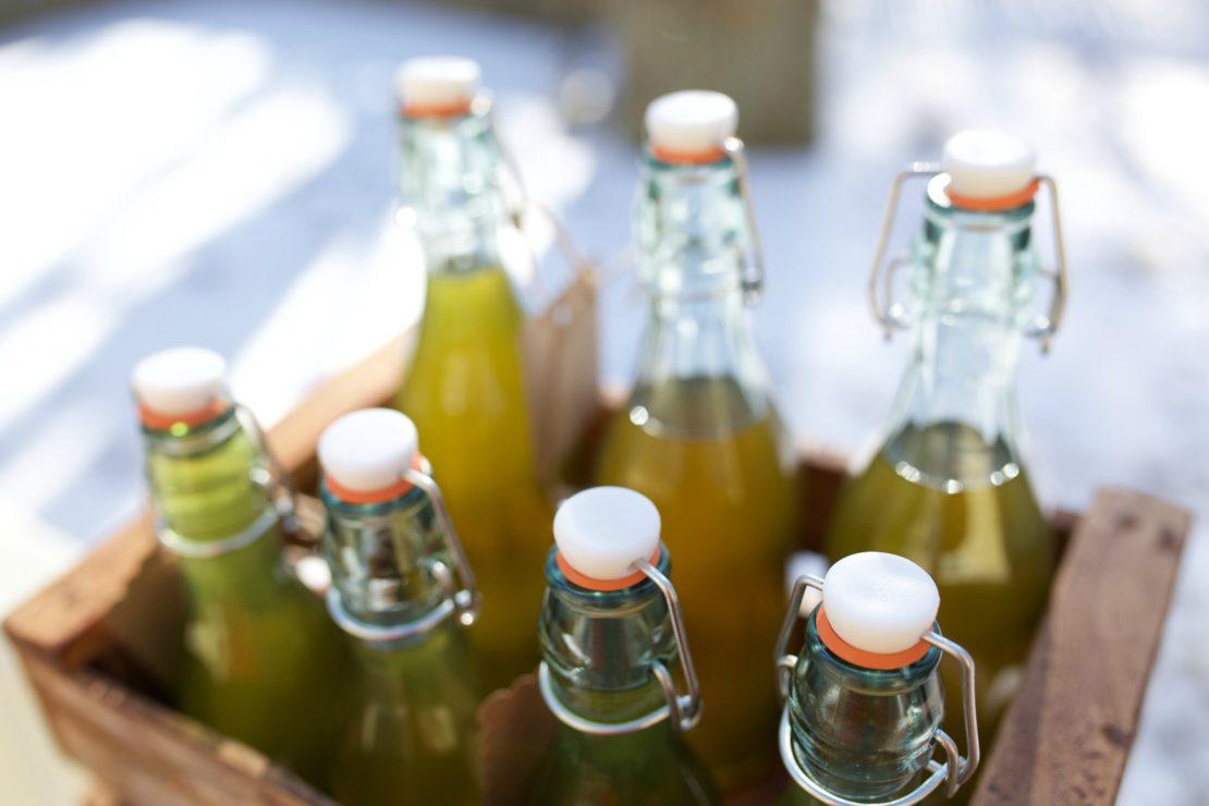 How To Make Herbal Kombucha Champagne | Herbal Academy | Learn how to make an herbal infused kombucha champagne in today's post.