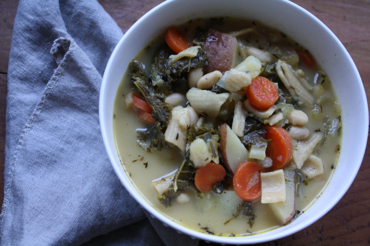 Vegan Herb and Veggie Stew | Herbal Academy | Nothing says warming and comforting like a big bowl of stew! Your family will love this hearty and nutritious Vegan Herb and Veggie Stew!