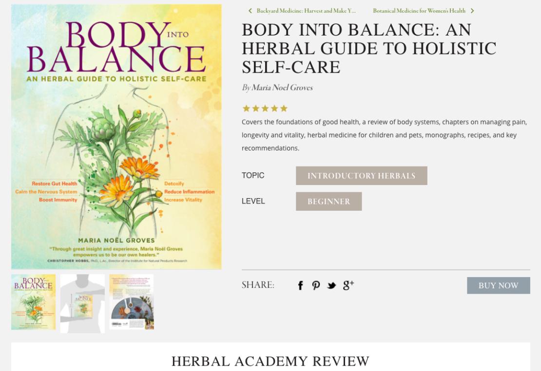 The Herbal Bookshelf by the Herbal Academy