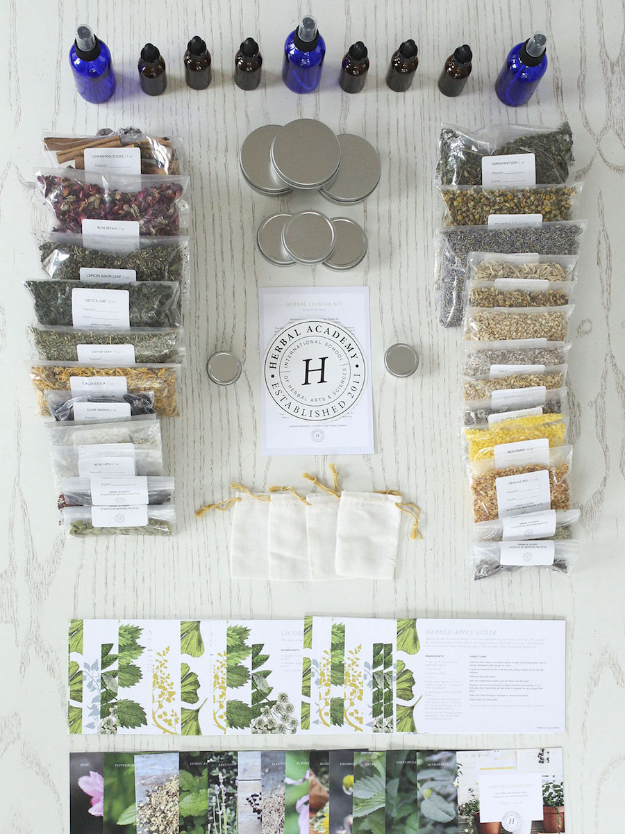 Herbal Starter Kit by Herbal Academy