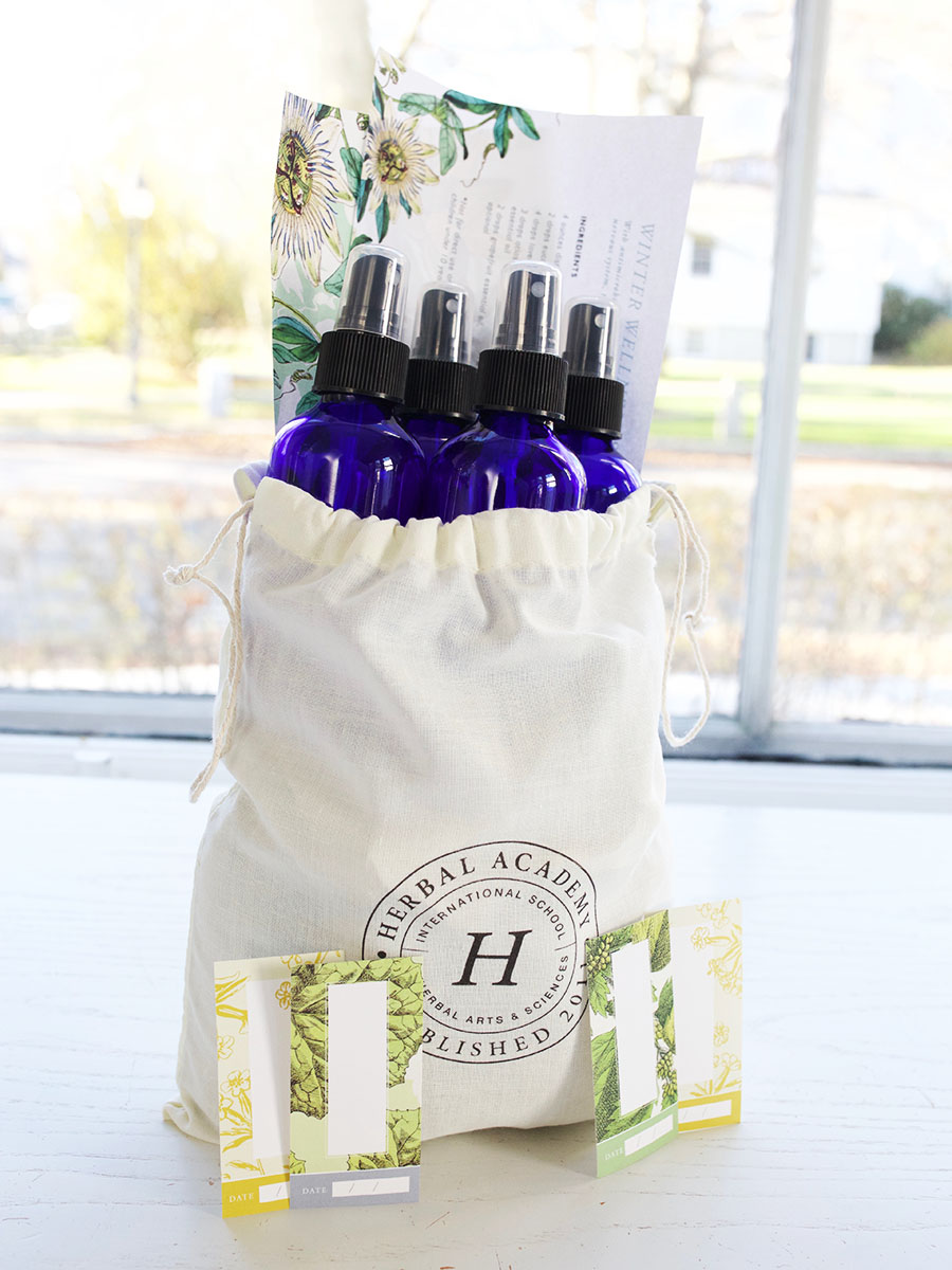4 oz spray bottle set by the Herbal Academy