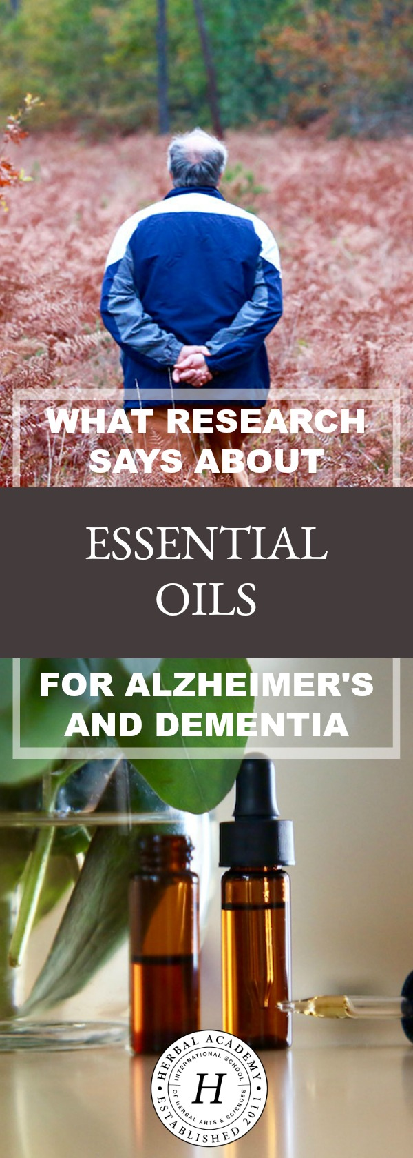 What Research Says About Essential Oils For Alzheimer's and Dementia | Herbal Academy | Do you have a loved one that suffers from a neurodegenerative disease? Learn what research says about essential oils and Alzheimer's and dementia.