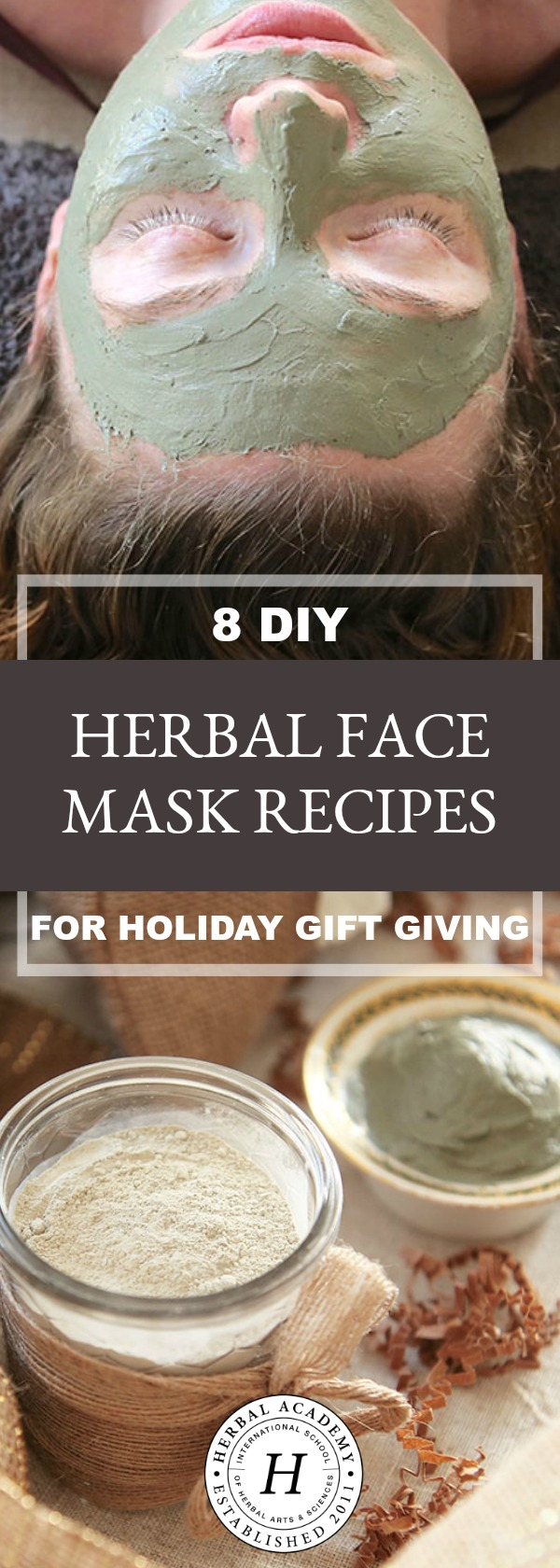 8 DIY Herbal Face Mask Recipes for Holiday Gift Giving | Herbal Academy | Looking for gift ideas for this holiday season? Check out these 8 DIY herbal face mask recipes that friends and family are sure to love!