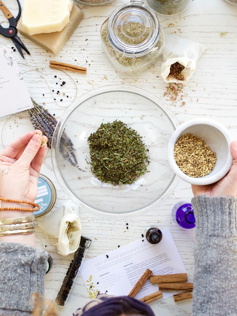 Herbal Recipe Cards by Herbal Academy