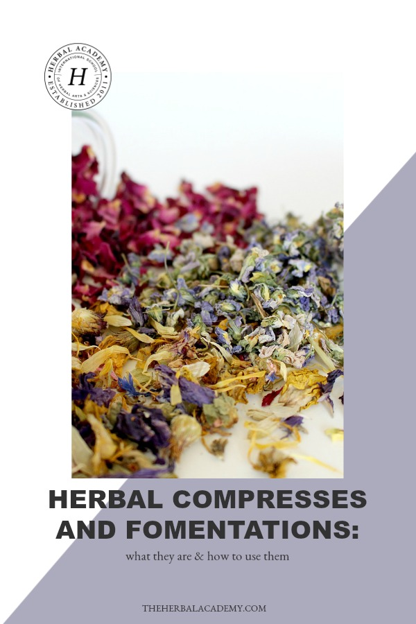 Herbal Compresses and Fomentations: What They Are & How To Use Them   Herbal Academy   Herbal compresses and fomentations are easily overlooked, however they have great potential for helping to ease discomfort. Here's how to make and use them!