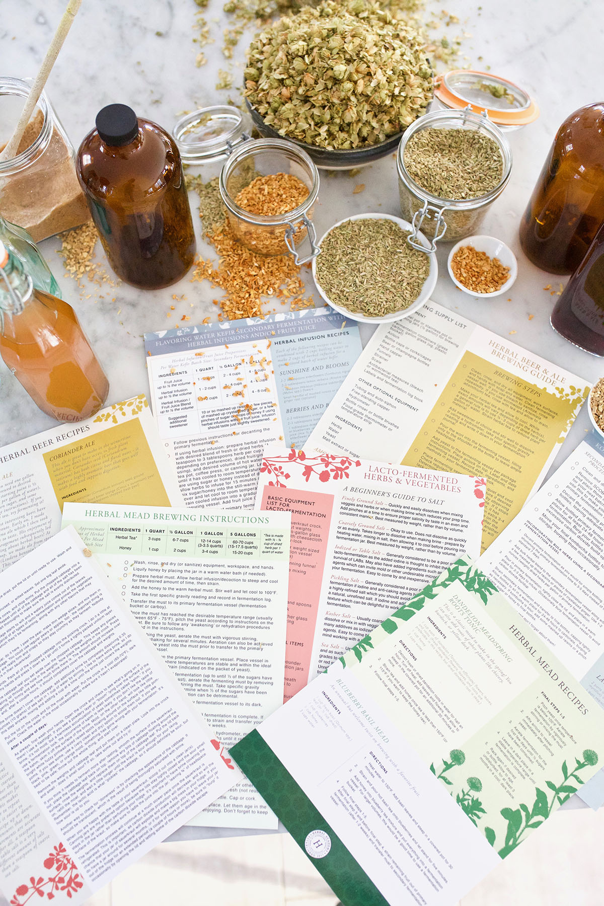 We're Having An Herbal Spring Sale & Giveaway! | Herbal Academy | Our entire Goods Shop is on sale just in time for, including our popular Herbal Materia Medica Short Course. Plus, we're giving away over $300 in prizes. Come shop the sale and enter to win some herbal goodies!