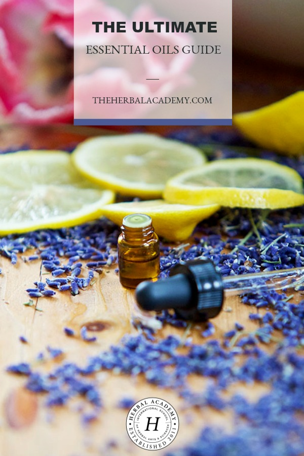 The Ultimate Essential Oils Guide | Herbal Academy | We have designed this Ultimate Essential Oils Guide to help you navigate through some of the very important topics and issues in aromatherapy that we've written about on the Herbal Academy blog. Our goal is to continually update this post with new articles and information so it can be a valuable resource for you.