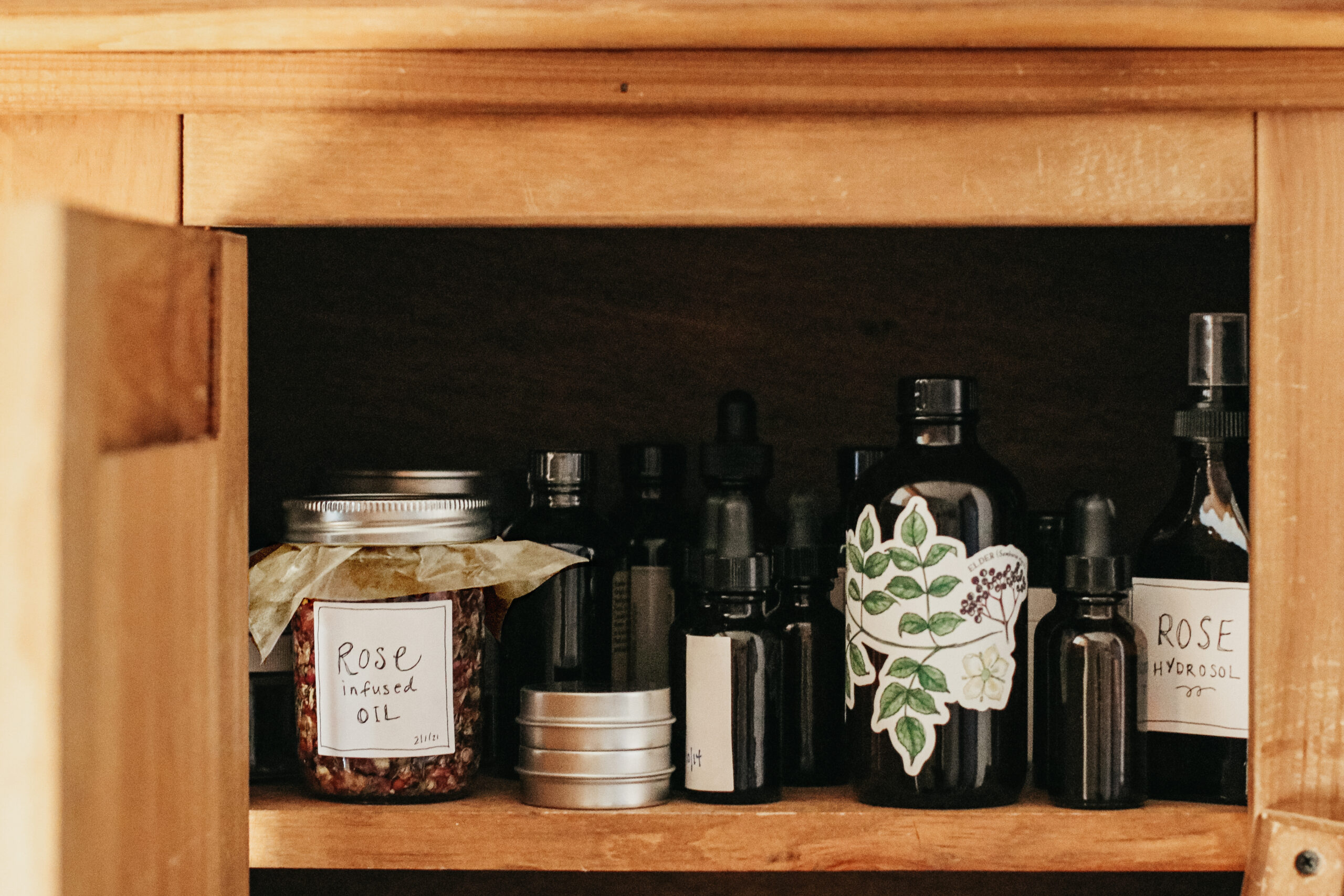 Herbal Academy Mastering Herbal Formulation Course - apothecary storage