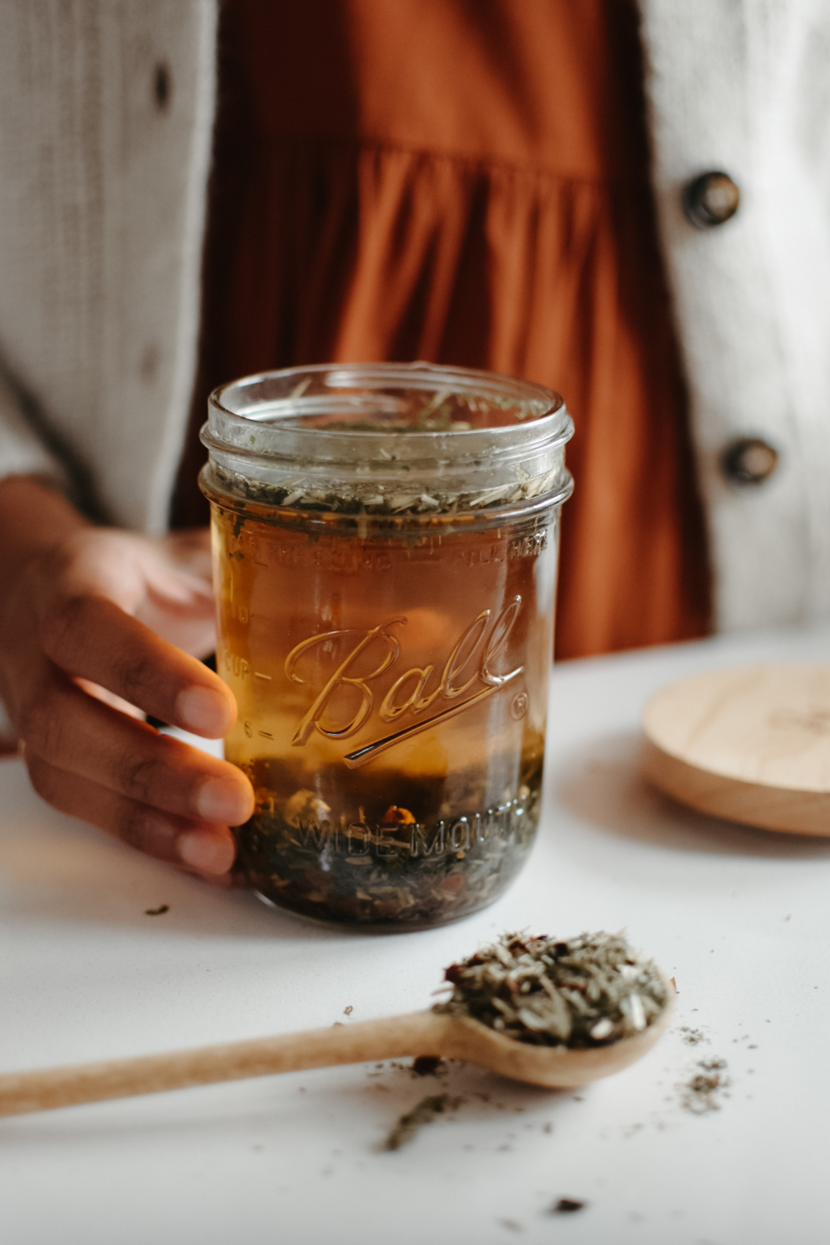 Herbal Academy Mastering Herbal Formulation Course - infusion copy