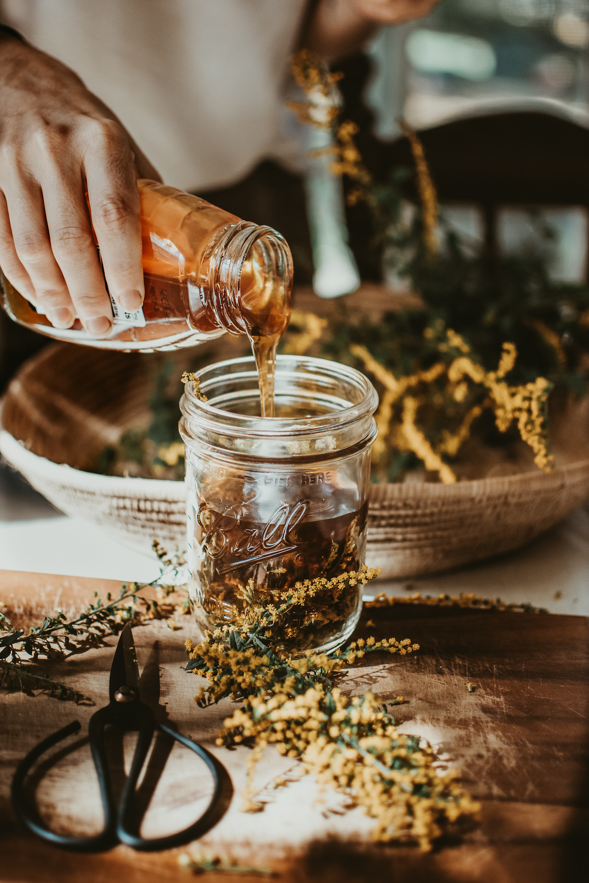 Mastering Herbal Formulation Course -Learn How to Combine Herbs like a pro - oxymel