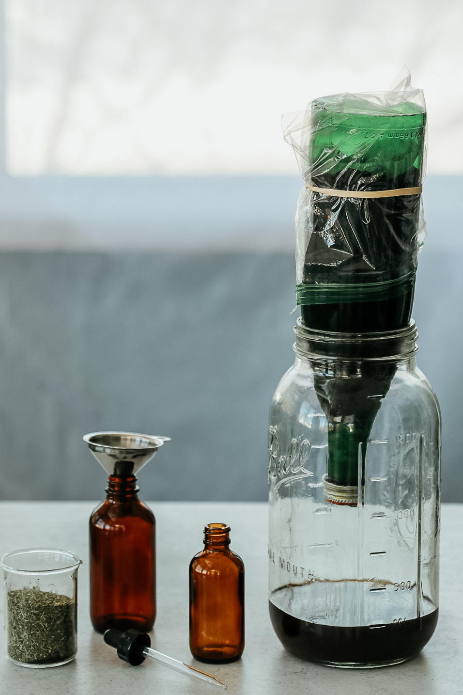 percolation set up Mastering Herbal Formulation Course -Learn How to Combine Herbs like a pro