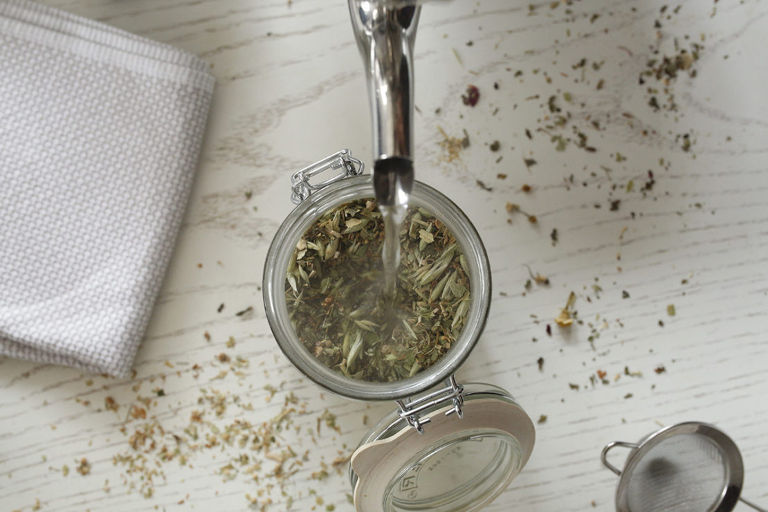 How To Build A Nutritive Tea   Herbal Academy   You can build a nutritive tea for your health and wellness by using the many herbs out there that are not only rich in vitamins and minerals, but also aid in our absorption of certain nutrients!