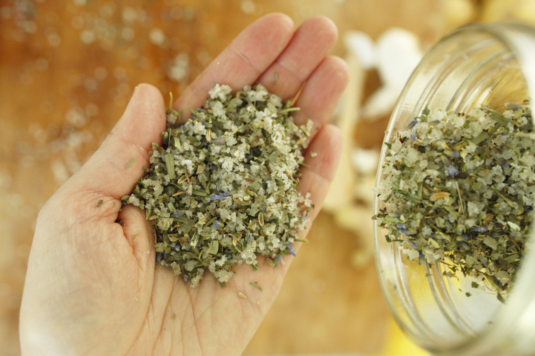 How To Make DIY Herbal Culinary Salts | Herbal Academy | Start stepping up the game at mealtime by making your very own DIY herbal culinary salts. They are incredibly easy to prepare and delightful to use!