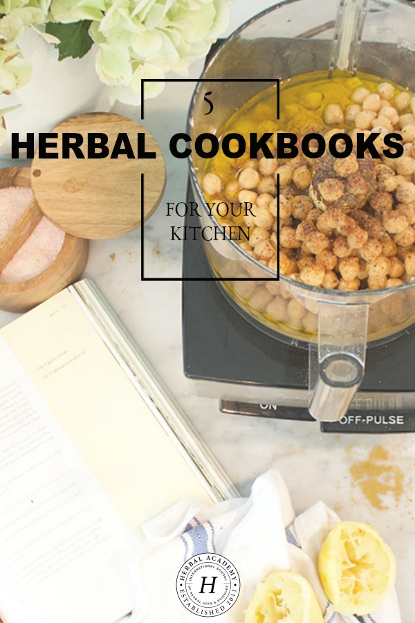 5 Herbal Cookbooks For Your Kitchen | Herbal Academy |Whether you're a complete novice or seasoned herbalist, here's 5 herbal cookbooks that will help inspire new dimensions and insights into the foods you eat.