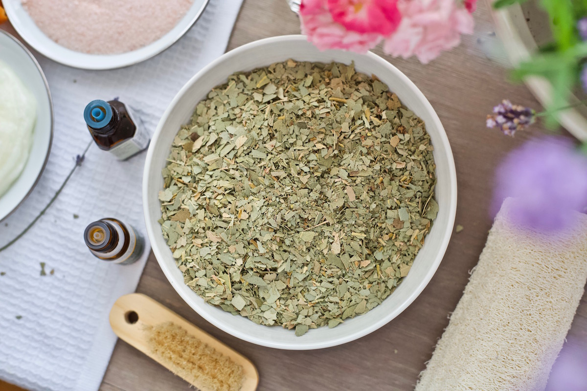 "3 Steps for an Herbal-Infused Pedicure for Beautiful Nails and Soft Feet | Herbal Academy | Enjoy some self-care and pampering with this 3-step herbal infused pedicure — a perfect way to get your feet soft, beautiful, and ""summer ready."""