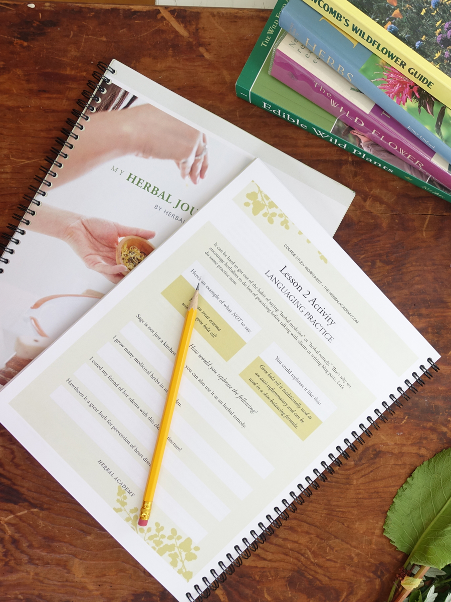 Herbal Journey Planner by Herbal Academy