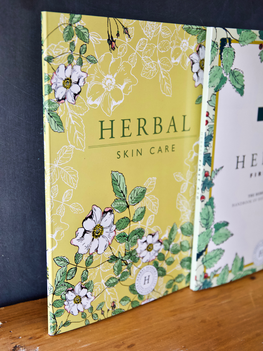 Intermediate Herbal Course Skin Care Booklet and Texbooks