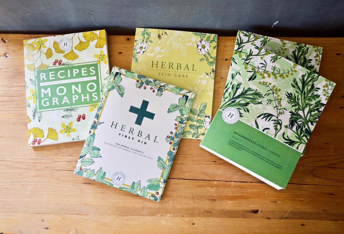 Intermediate Herbal Course Texbook by Herbal Academy