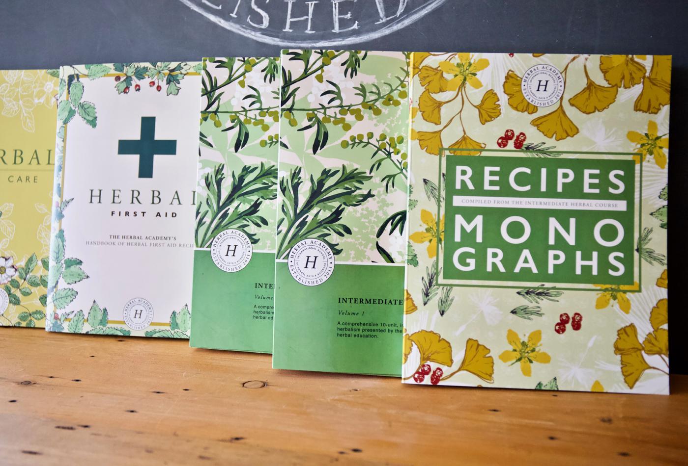 Intermediate Herbalism Textbook by Herbal Academy