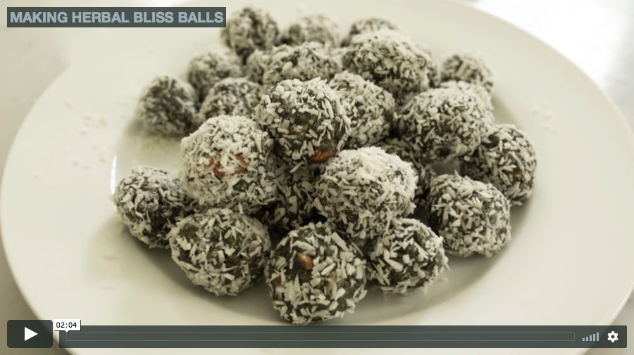 Adaptogen Bliss Balls Recipe & Video   Herbal Academy   Learn some important key points to know about adaptogens and get a delicious recipe and video tutorial for Adaptogen Bliss Balls from our newly updated Introductory Herbal Course!
