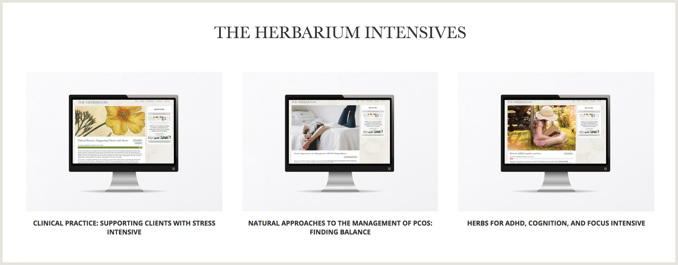 THE HERBARIUM featured Herbalism Intensive Short Courses