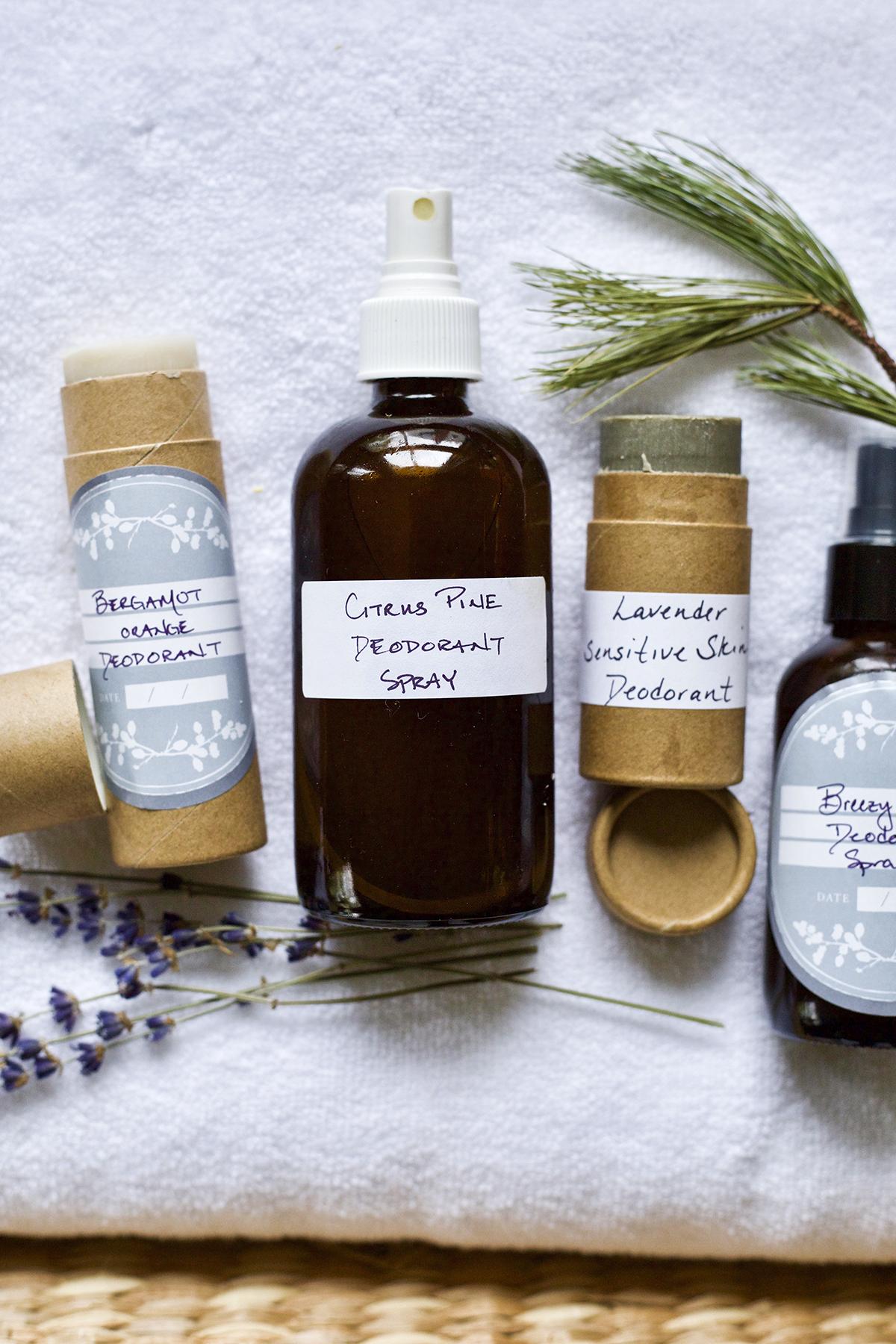 Botanical Skin Care Course - DIY deodorants