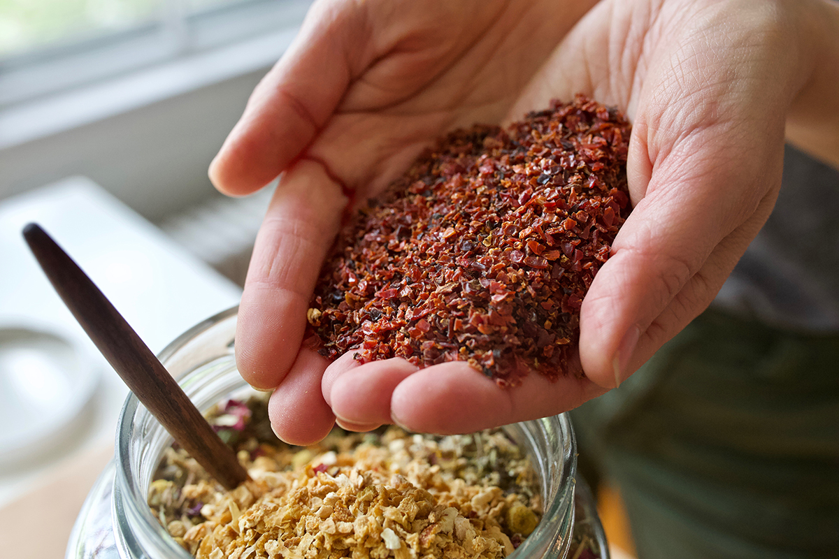 How To Make A Summer Garden Bath Tea   Herbal Academy   A summer garden bath tea is a great way to unwind. Here are our top five herbs to include plus tips for planting, growing, and harvesting these herbs too!