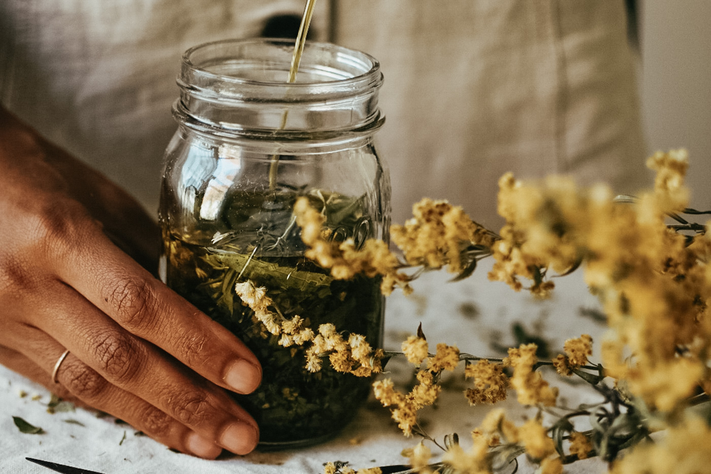 The Making Herbal Preparations Course by Herbal Academy –Making Herbal Oils and Salves