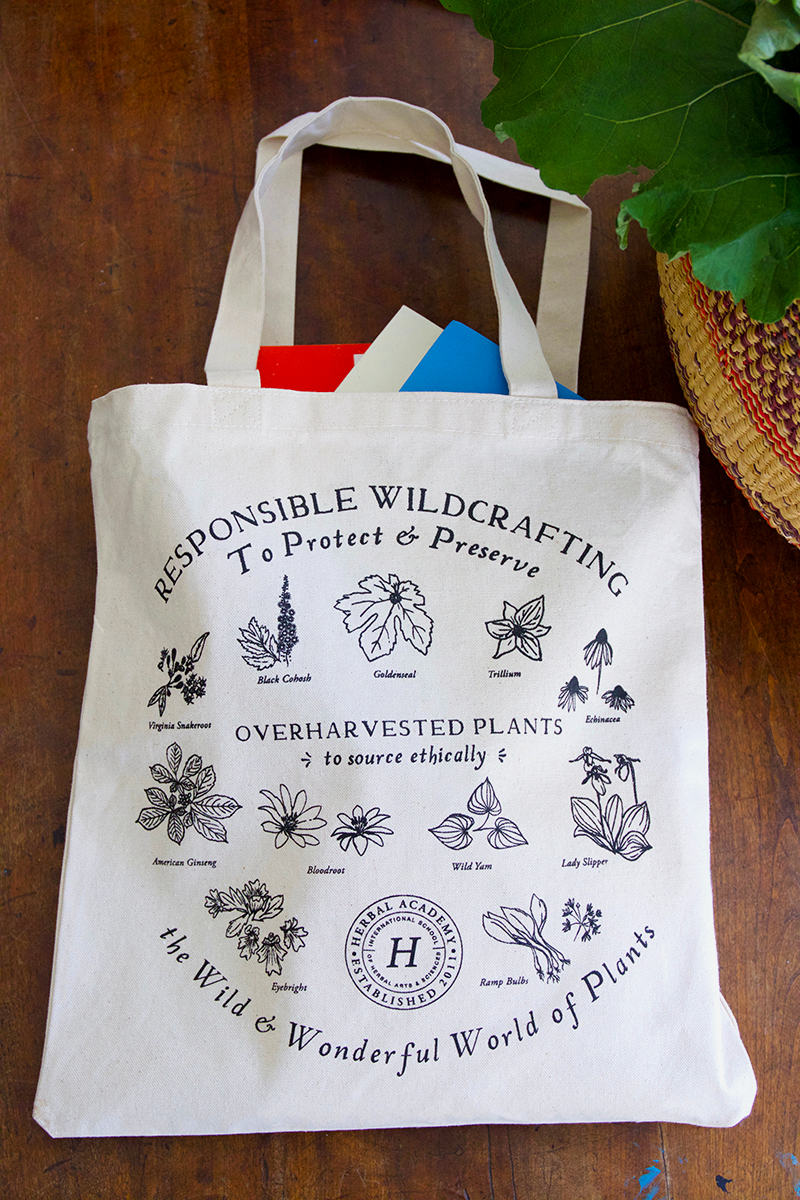 Plant Steward Tote Bag by the Herbal Academy