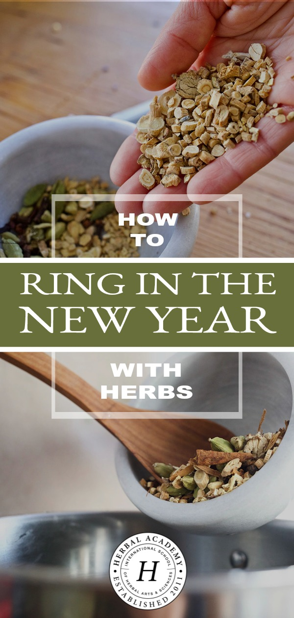 How to Ring in the New Year with Herbs | Herbal Academy | Learn how to embrace wellness during the new year with herbs as part of a holistic paradigm.