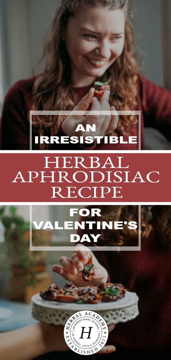An Irresistible Herbal Aphrodisiac Recipe for Valentine's Day: Cleopatra's Love Bites | Herbal Academy | With Valentine's Day approaching, this herbal aphrodisiac recipe for Cleopatra's Love Bites may be just the thing you need to make your day extra special!