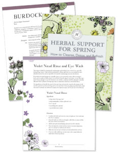 Herbal Support for Spring - Detox and refresh Ebook by Herbal Academy