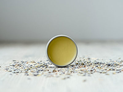 Stress-Be-Gone Balm Recipe (and Video!)   Herbal Academy   This Stress-Relief Balm recipe is adapted from the Herbal Academy's Intermediate Herbal Course and features calming essential oils in an herb-infused base.