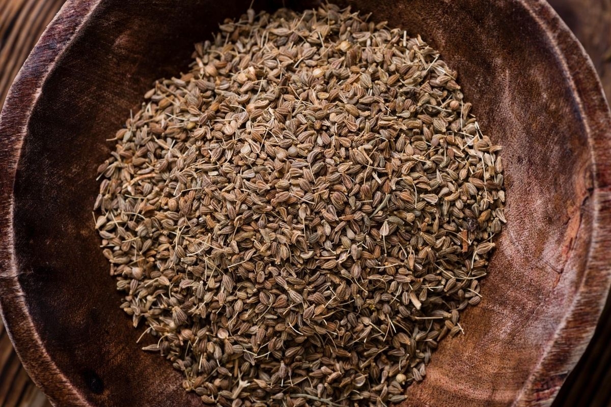 a bowl of anise seeds