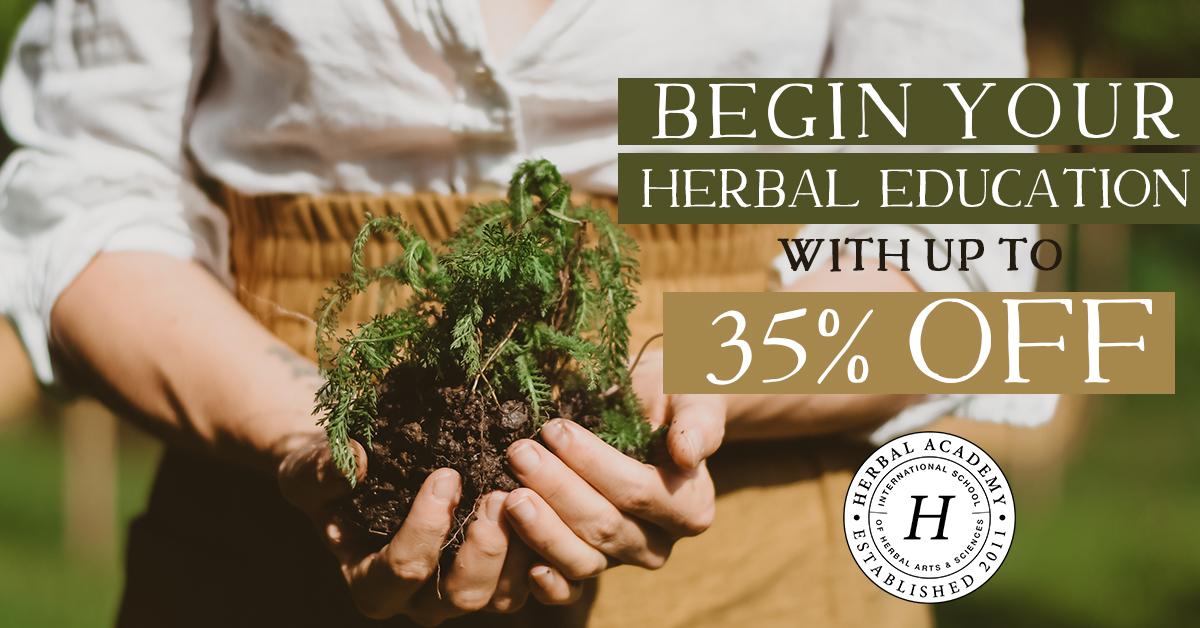 Back to school SALE on herbalism programs!