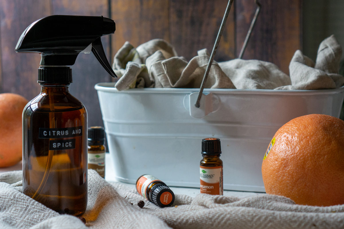 Citrus and spice all-purpose cleaner