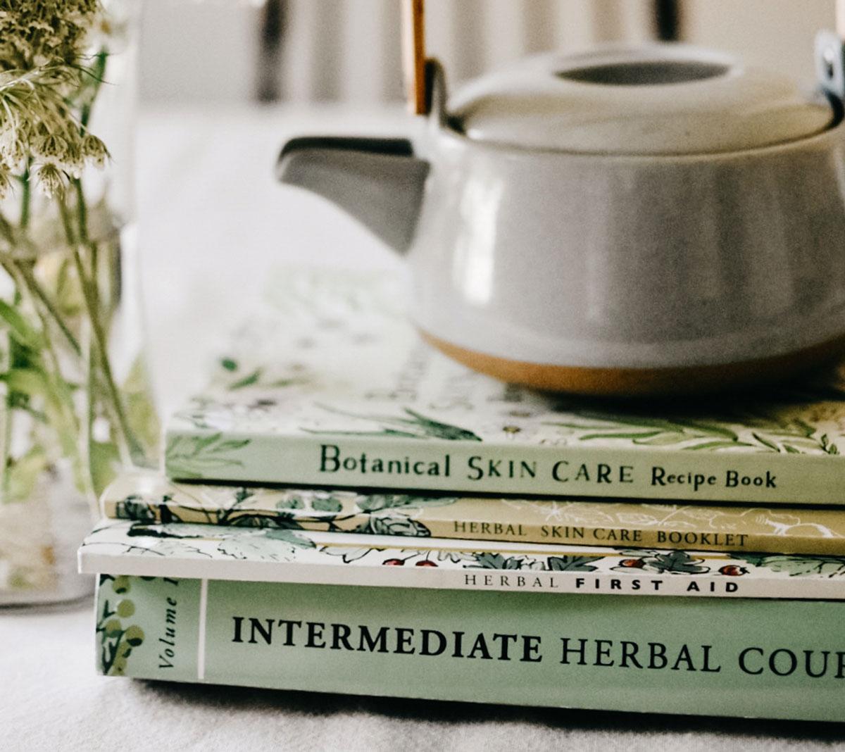 Herbal Academy intermediate textbooks