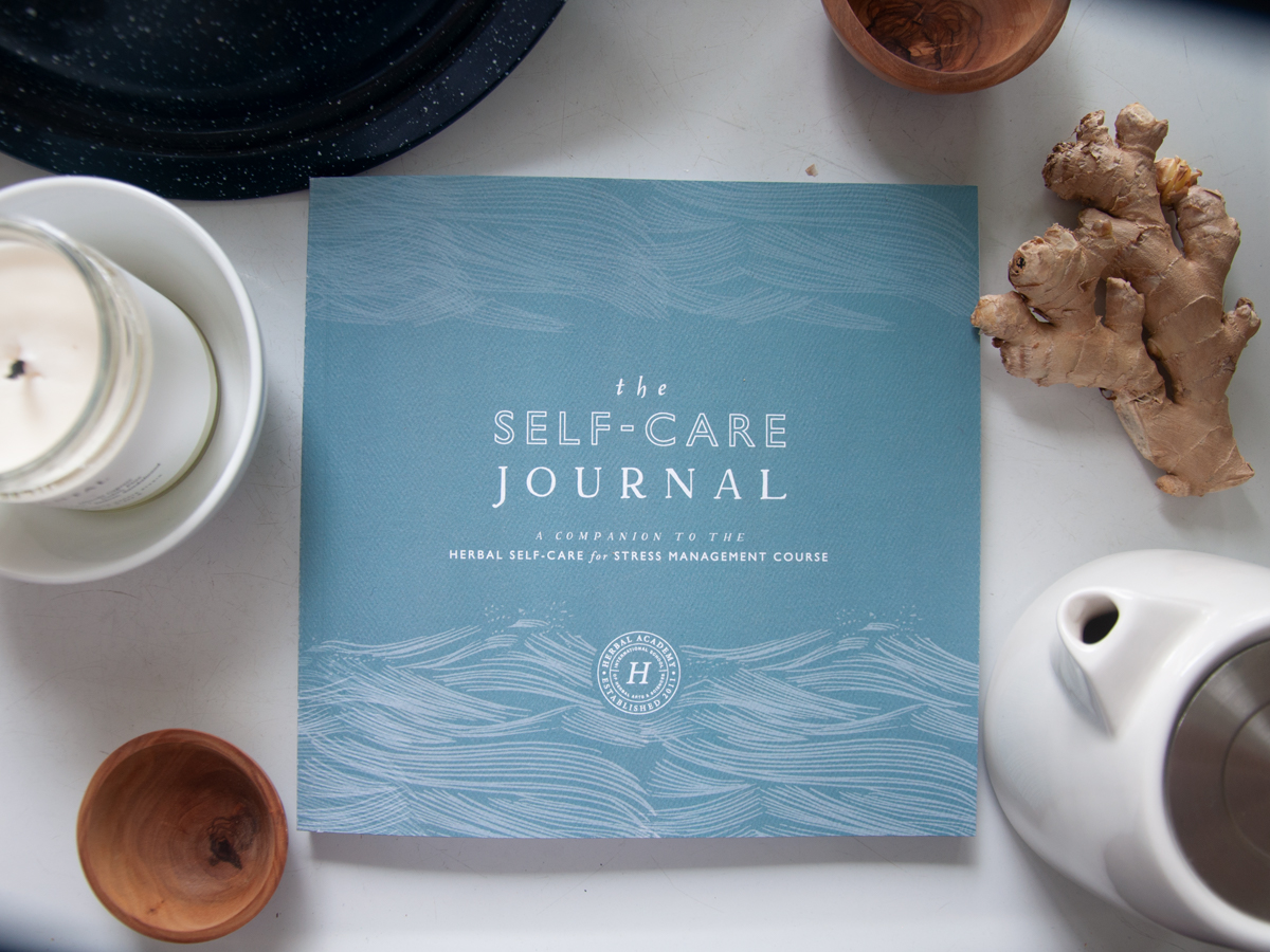 A self-care journal is one of our favorite gifts for herbalists