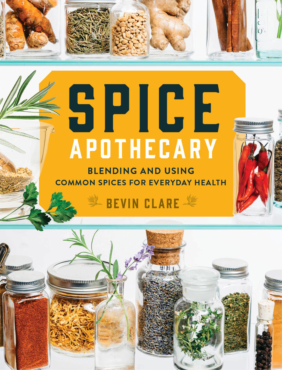 Spice Apothecary book cover by Bevin Clare