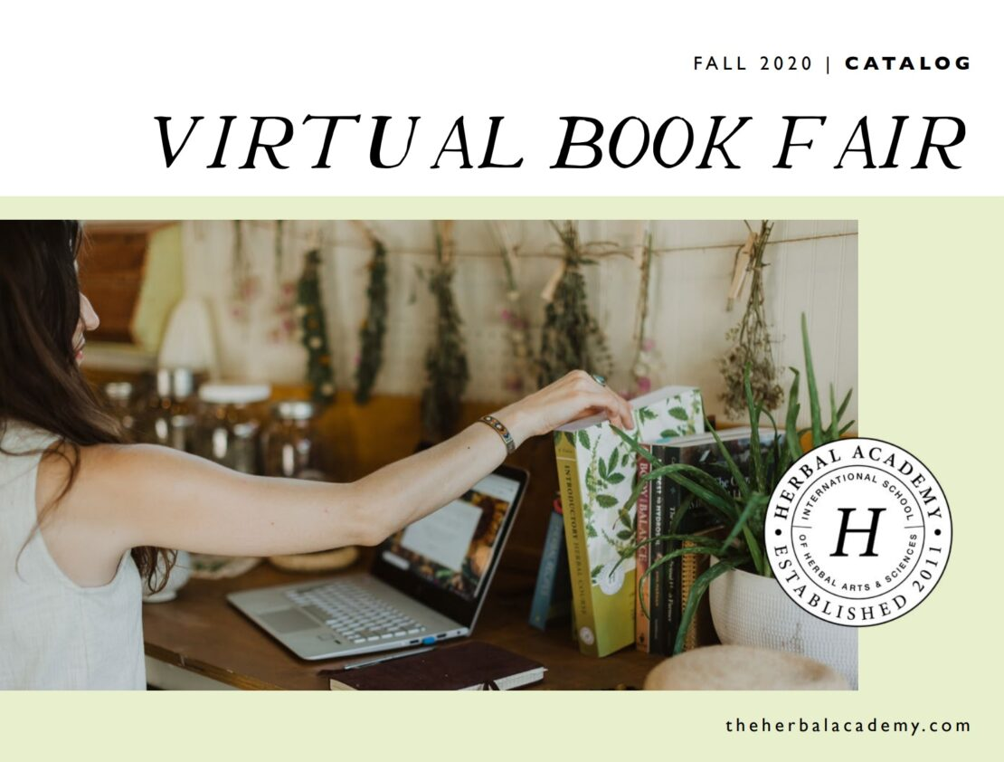 Herbal book fair catalog cover